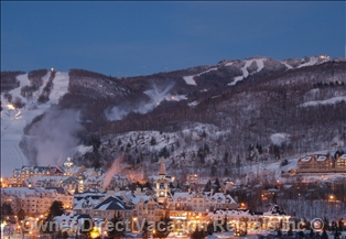 Ski area at Mont Tremblant