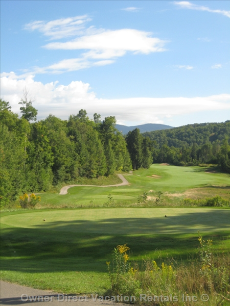 Golfing in SW Quebec