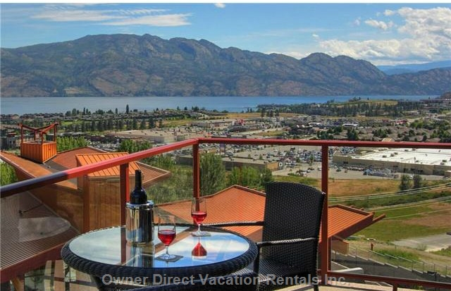 2-Bedroom condo located on the hills overlooking the beautiful Lake Okanagan