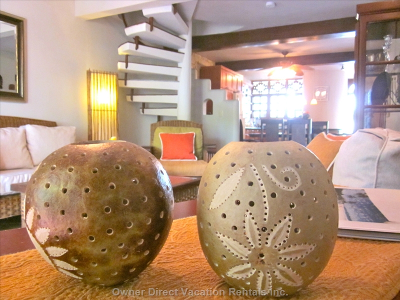 Take home some candle light shades from Cabarete!