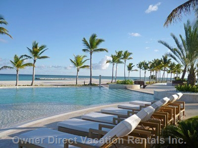 Luxury apartment located in the biggest inland marina of the Caribbean