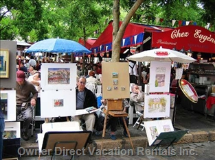Painters at Place Du Tertre