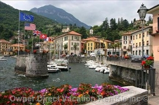 The Harbour of Lively Menaggio, Lake Como