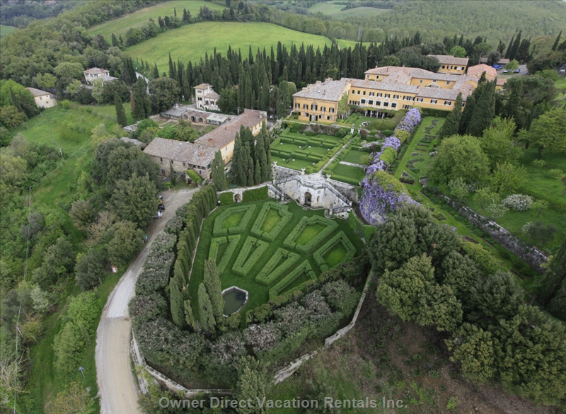 Villa and historic garden featured in Financial Times Top 10 Travel Destinations in 2012