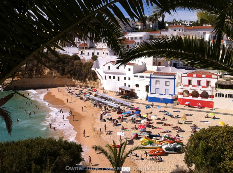 Property within 100 steps to Carvoeiro Beach