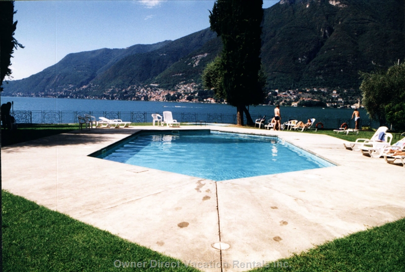 Apartment located in a very quiet and sunny site with beautiful Lake Como view