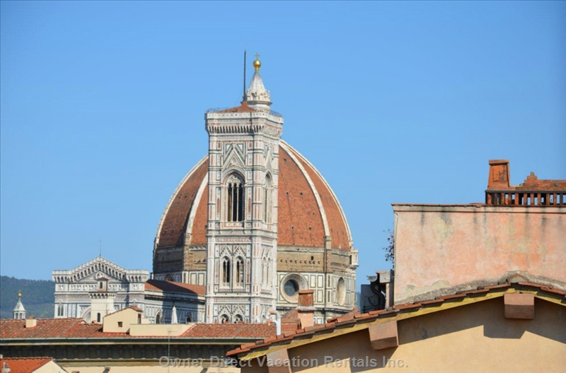 Furnished studio with beautiful view of Florence