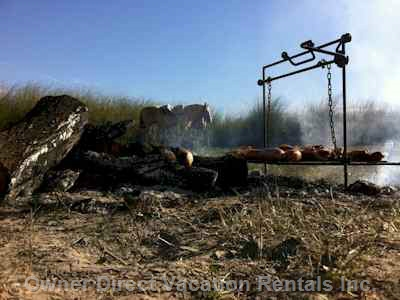 Enjoy the typical Criollo BBQ