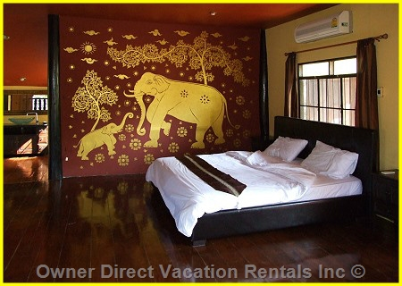 Boutique homestay offering luxury Thai accommodation to max 6 occupants