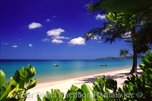 Bangtao Beach on Phuket Island, Thailand