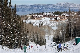 Winter season at Deer Valley