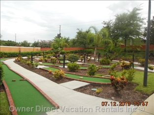 Mini golf in Davenport, FL