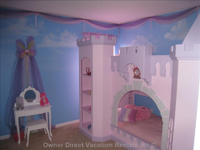 Disney Princess Theme Room