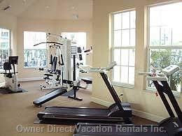 Community Fitness Room in Clubhouse