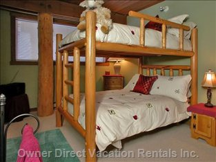 Second Bedroom - Double Bunk - Sleeps 4 People