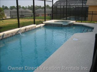 Private, Screened Pool and Spa