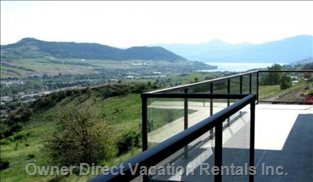The View Looking to Terrace Mountain - what a Great View! 180 Degrees Including the Turtle Mtn.