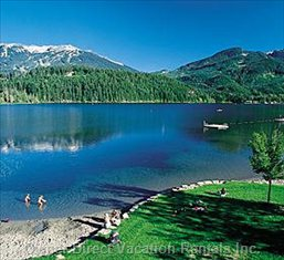 Alta Lake - Alta Lake is has a Beautiful Park and it is Only a 15 Minute Walk from Glaciers Reach