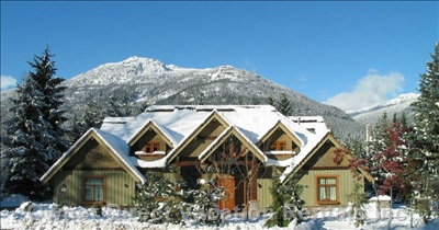 Whistler Alpine Chalet and Vacation Rental in Winter