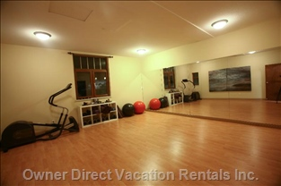 Yoga and Fitness Room