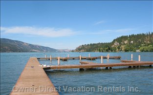 Private Dock, Fantastic Lake